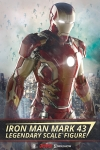 Sideshow - Marvel Collectibles - Iron Man Mark 43 Legendary Scale(TM) Figure